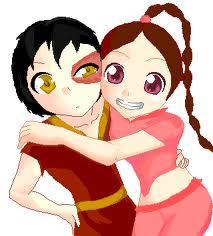 Ty Lee and Zuko