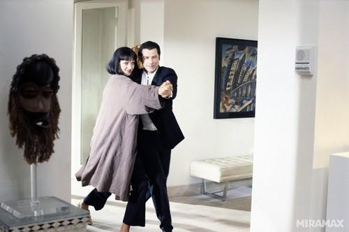 Uma Thurman & John Travolta