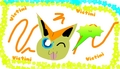 Victini - pokemon fan art