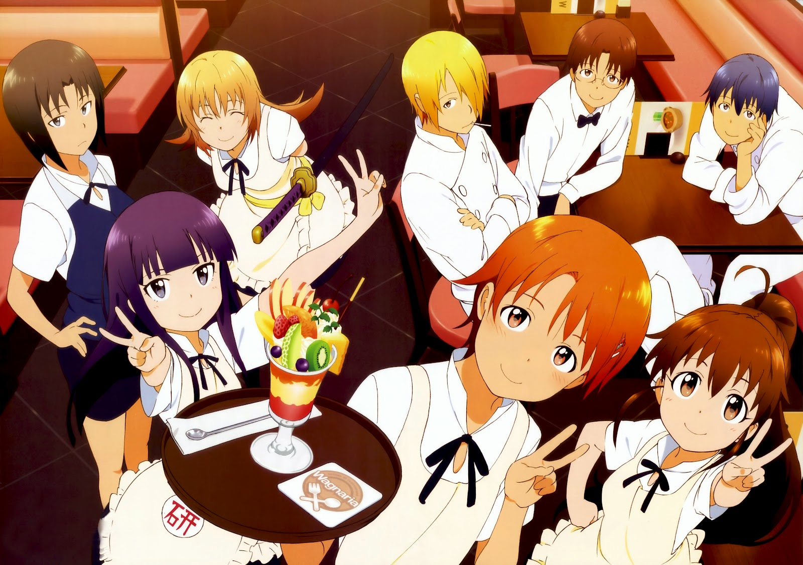 Working Images Wagnaria Hd Wallpaper And Background Photos