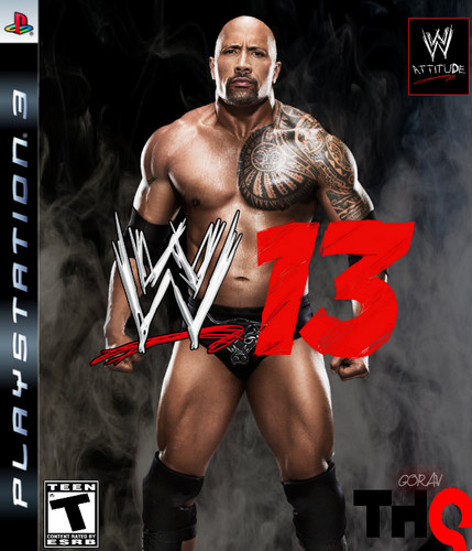 WWE'13 The Rock