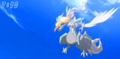 White Kyurem 15th movie Screencap - reshiram photo