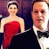 The Good Wife foto probably containing a business suit and a dress suit called Will & Alicia 4x18<3