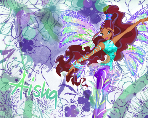 The Winx Club wallpaper entitled Winx club Layla sirenix wallpaper