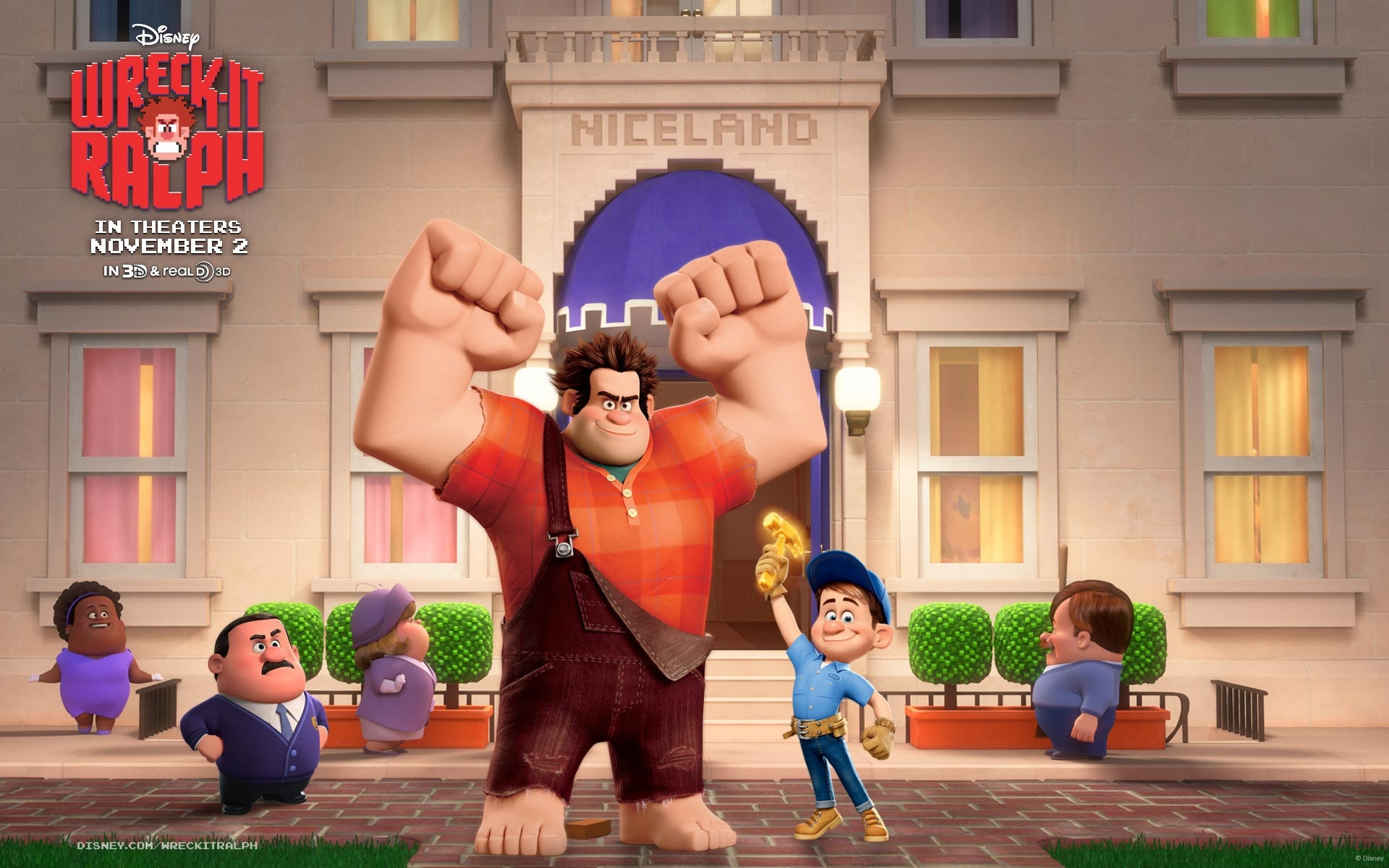 """wreck it ralph Wreck-it ralph 3,172,366 likes 2,225 talking about this """"there's no one i'd rather be than me""""."""