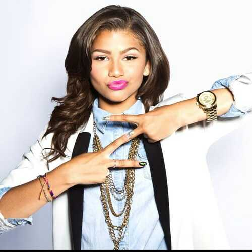 Zendaya Coleman wallpaper probably containing a portrait titled Z...