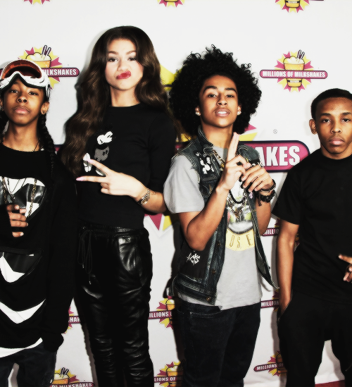 zendaya and mindless behavior - photo #4