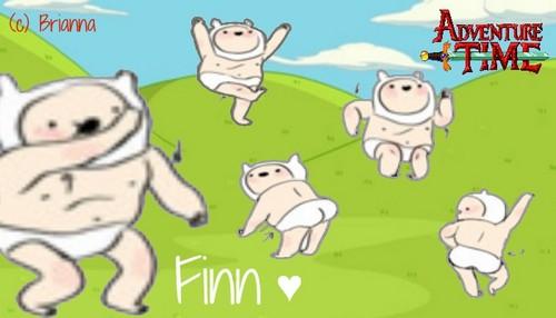 adventure time baby finn