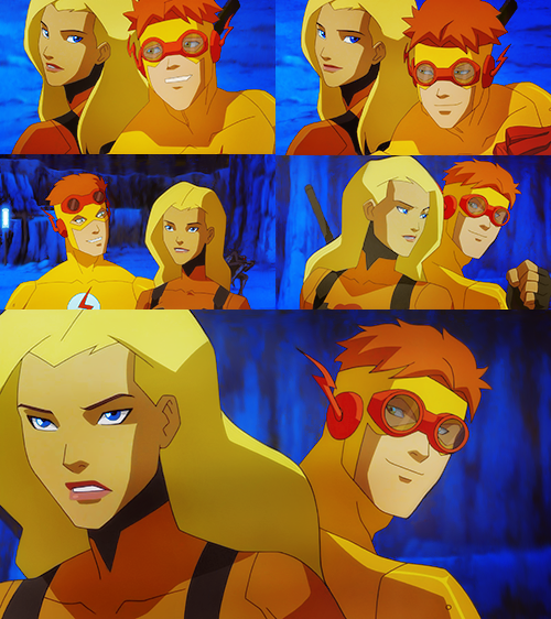 artemis and kid flash