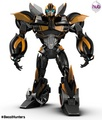 bumblebee beast hunters new pain job - transformers-prime photo