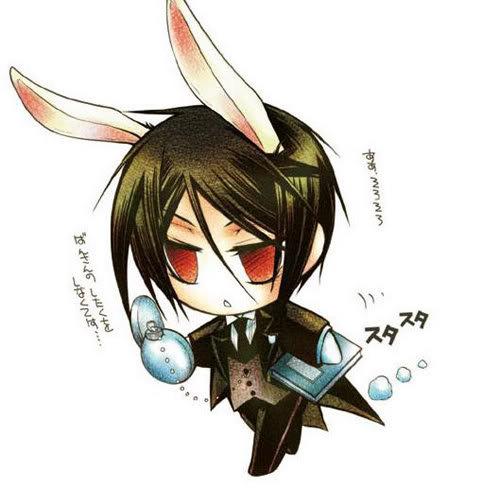 Chibi sebastian bunny