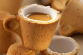 edible coffee cup - coffee photo