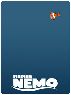 Finding Nemo kertas dinding probably with a venn diagram and a portrait called finding nemo