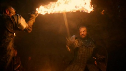 Beric Dondarrion & Sandor Clegane