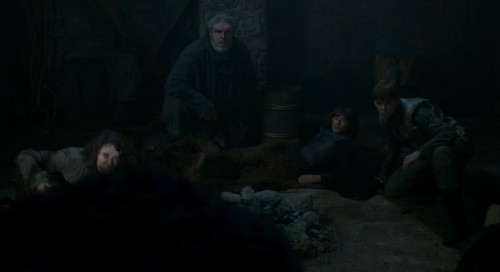 Meera, Hodor, Bran & Jojen