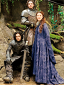 Jon Snow, Robb & Catelyn Stark - game-of-thrones photo