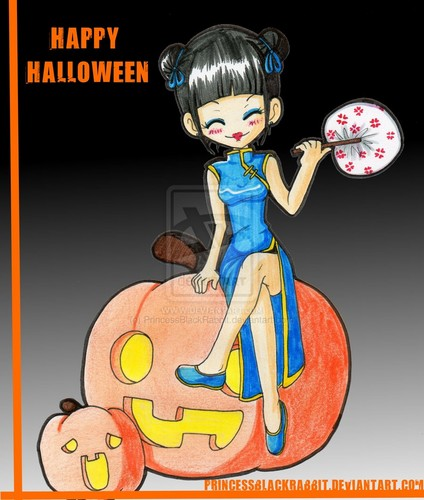 Halloween abby