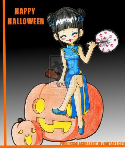 Хэллоуин abby