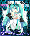 hatsune miku - hatsune-miku fan art