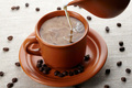 homemade coffee creamer - coffee photo