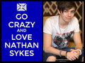 keep calm and love nathan skyes - the-wanted fan art