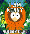 kenny rules - kenny-mccormick-south-park fan art