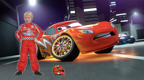 Disney Pixar Cars karatasi la kupamba ukuta called max