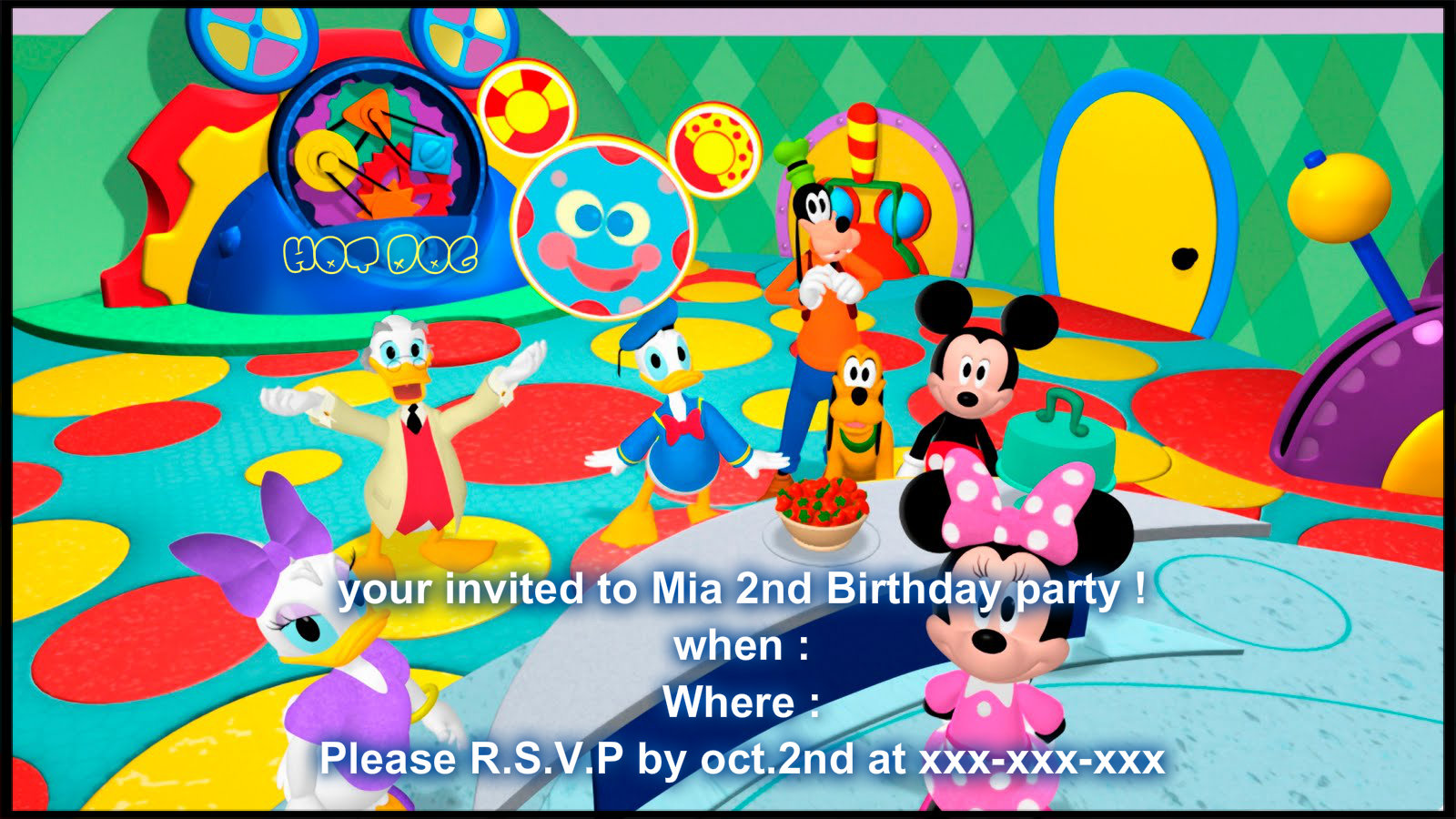 Disney Images Mickey Mouse Clubhouse Invite Hd Wallpaper And