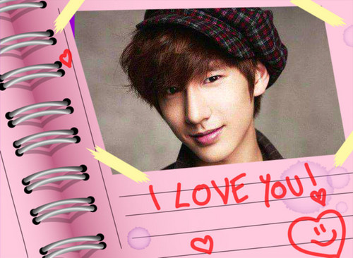 Boyfriend wallpaper containing a sign entitled minwoo