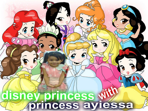 disney Extended Princess wallpaper containing anime entitled my princess