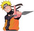Naruto smiling