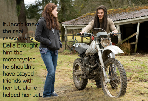 New Moon Movie wallpaper possibly containing a trail bike entitled new moon movie