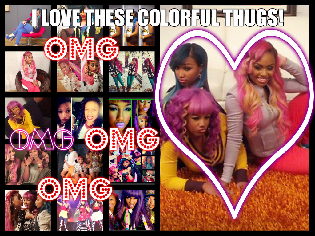 Images6fanpop Image Photos 33900000 Omg Girlz Colorful Thugs The 33996094 1024 768