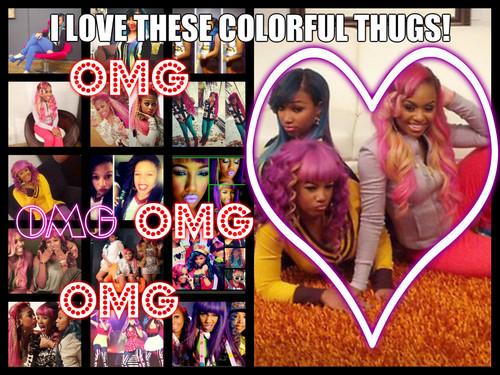 omg girlz: colorful thugs