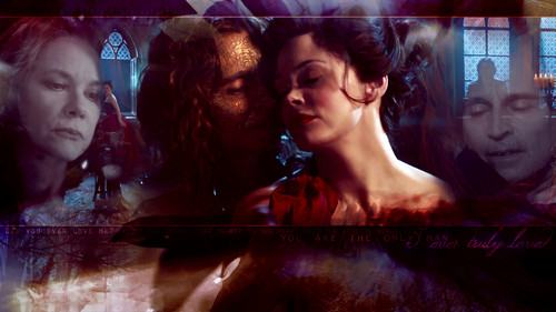 once upon a time wallpaper titled Rumpelstiltskin & Cora