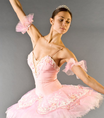 Ballet wallpaper probably with a gown called pink tutu