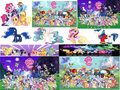 pony collage - my-little-pony-friendship-is-magic photo