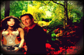 prue &amp; cole's secret garden - charmed photo