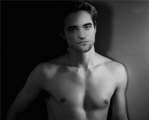 Robert Pattinson wallpaper containing a hunk, a six pack, and skin entitled robert