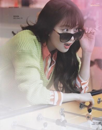 seohyun for instyle magazine (amazing)