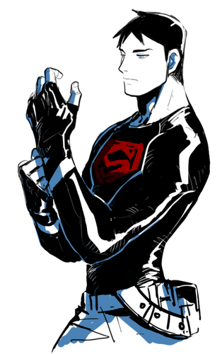 Young Justice wallpaper with anime titled superboy