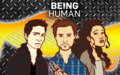 wallpaper being human desenho - being-human-us wallpaper