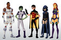 yj_teen titans - young-justice photo