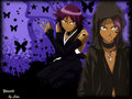 yoruichi - bleach-anime wallpaper