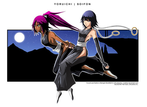 yoruichi / soi fon