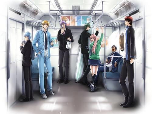 ~Awkwardness On The Subway~