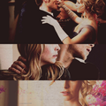 ❝Don't underestimate the allure of darkness, even the purest of hearts are drawn to it.❞  - klaus-and-caroline fan art
