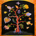 ★ Friendship Tree Quilt Square ☆  - anj-and-jezzi-the-aries-twins fan art