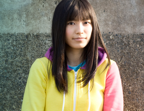 miwa wallpaper possibly with an outerwear, a leisure wear, and a hood called 「Haru ni Nattara」Promo