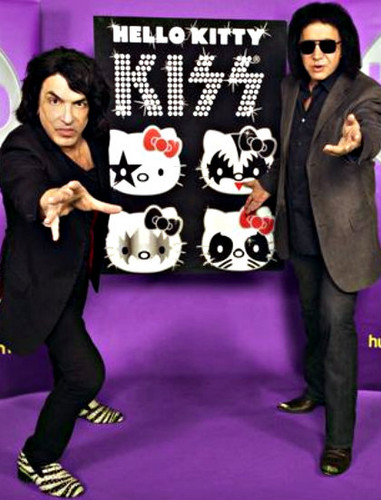★ Hello Kitty and Kiss team up for a TV series ☆